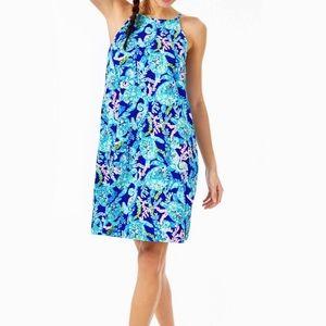NWT Margot dress Corsica Blue Turtle Villa size L